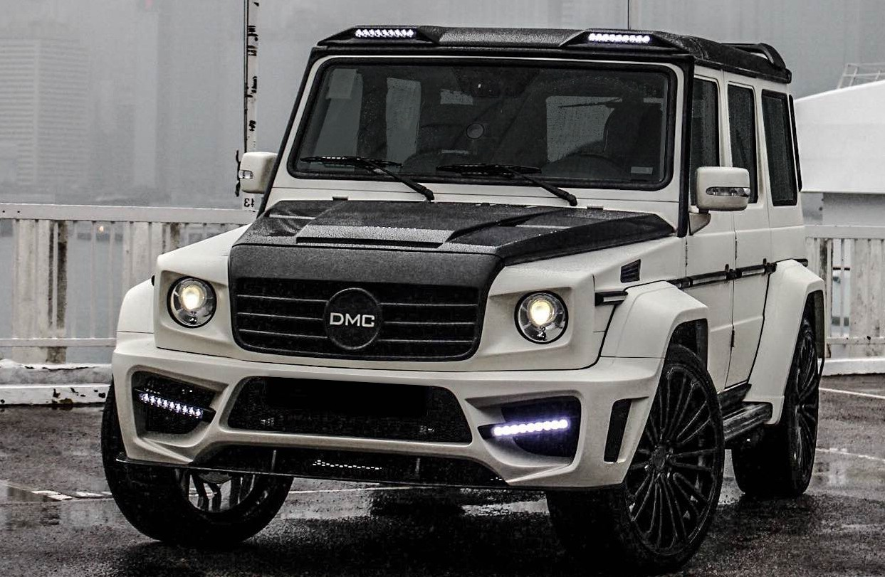 DMC unleashes Zeus – the widest G-Class in the world Image ...