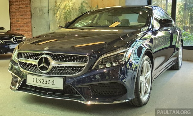 Mercedes benz cls 250d price confirmed at rm493k for Mercedes benz cl 250 coupe