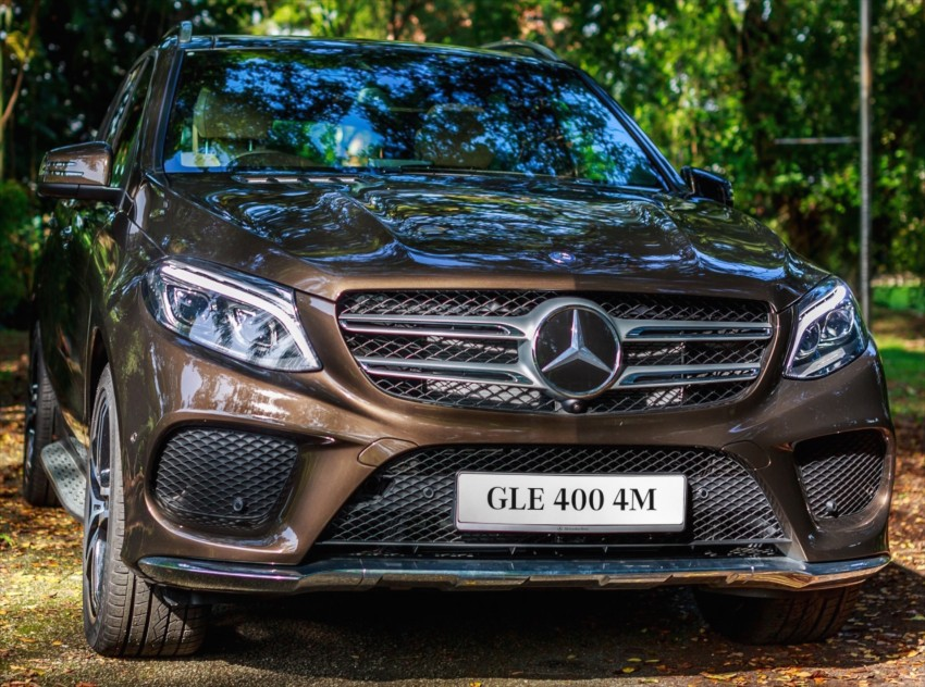 Mercedes-Benz GLE 400, GLE 250 d debut in Malaysia Image #428533