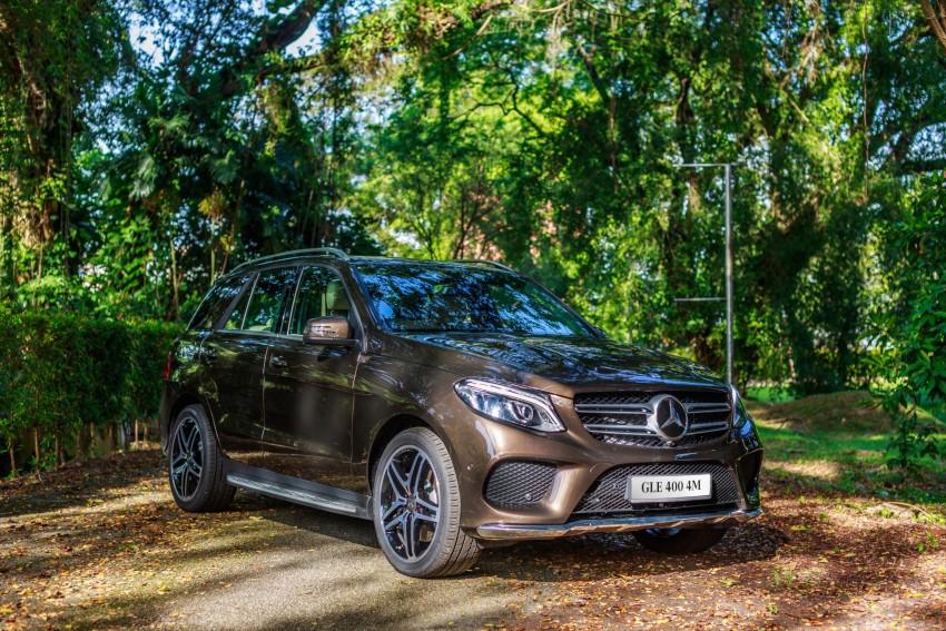 Mercedes-Benz GLE 250 d, GLE 400 4Matic telah dilancarkan di Malaysia – 3.0L V6, harga dari RM487k Image #429895