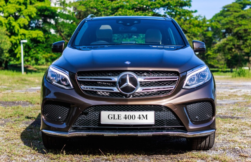 Mercedes-Benz GLE 400, GLE 250 d debut in Malaysia Image #428535