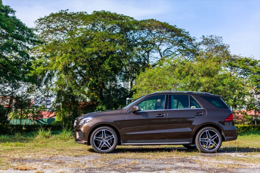 Mercedes-Benz GLE 400, GLE 250 d debut in Malaysia Image #428536