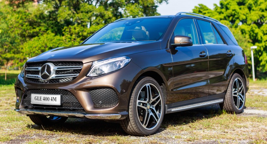 Mercedes-Benz GLE 400, GLE 250 d debut in Malaysia Image #428537