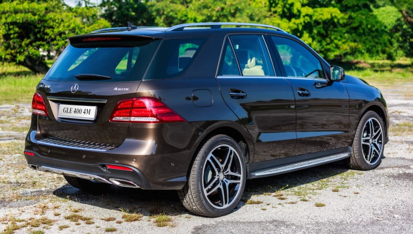 Mercedes-Benz GLE 400, GLE 250 d debut in Malaysia Image #428539
