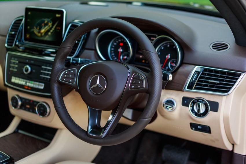 Mercedes-Benz GLE 250 d, GLE 400 4Matic telah dilancarkan di Malaysia – 3.0L V6, harga dari RM487k Image #429904