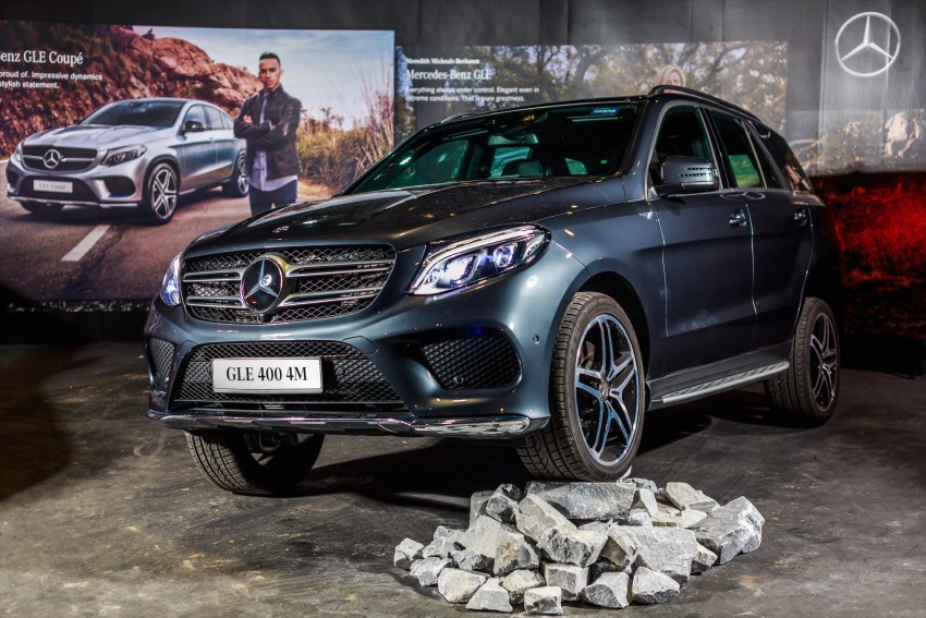 Mercedes-Benz GLE 400, GLE 250 d debut in Malaysia Image #428586