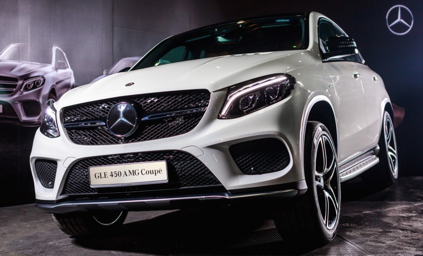 Mercedes-Benz GLE Coupe launched in Malaysia – GLE 400, GLE 450 AMG priced at RM631k, RM700k Image #428590