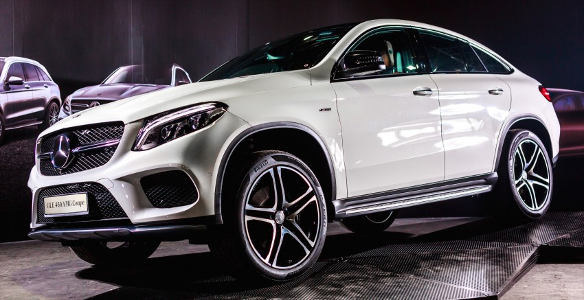 Mercedes-Benz GLE Coupe launched in Malaysia – GLE 400, GLE 450 AMG priced at RM631k, RM700k Image #428591