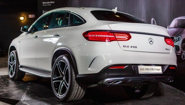 mercedes-benz gle coupe launched in malaysia - gle 400, gle 450