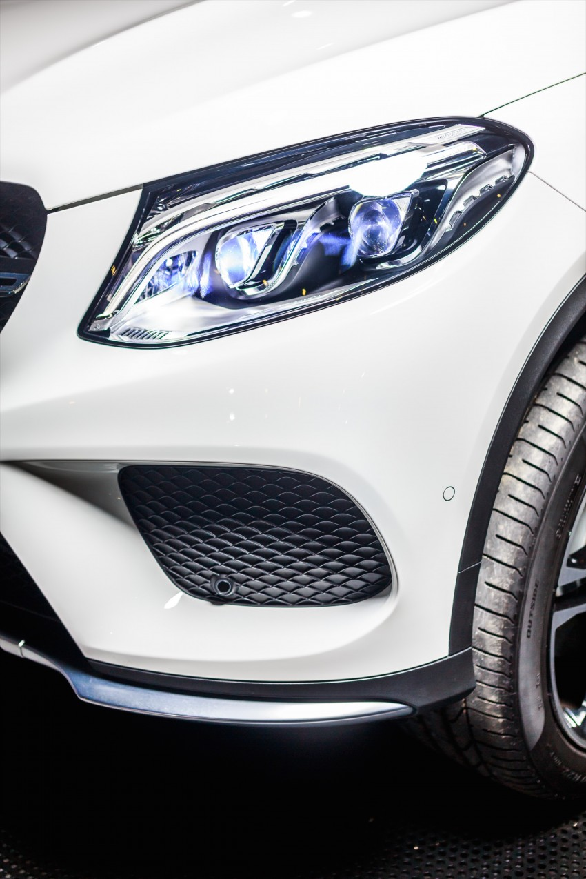 Mercedes-Benz GLE Coupe launched in Malaysia – GLE 400, GLE 450 AMG priced at RM631k, RM700k Image #428622