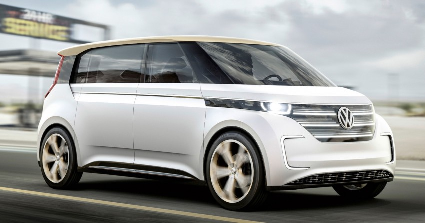 CES 2016: Volkswagen BUDD-e Concept – electric van is first on the Modular Electric Platform (MEB) Image #425422
