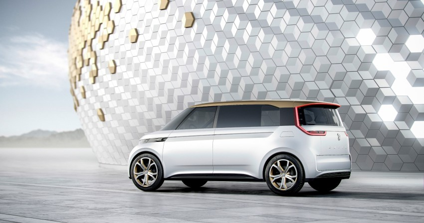CES 2016: Volkswagen BUDD-e Concept – electric van is first on the Modular Electric Platform (MEB) Image #425423