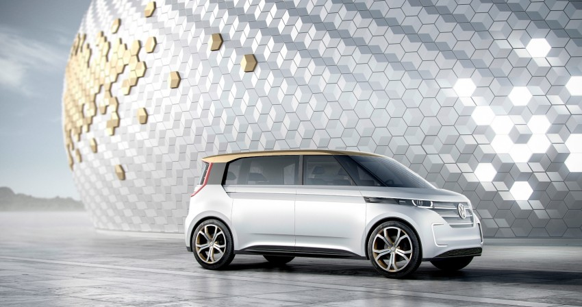 CES 2016: Volkswagen BUDD-e Concept – electric van is first on the Modular Electric Platform (MEB) Image #425425