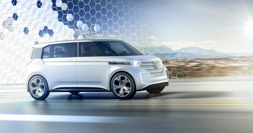 CES 2016: Volkswagen BUDD-e Concept – electric van is first on the Modular Electric Platform (MEB) Image #425426