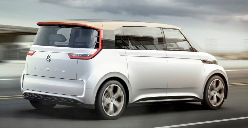 CES 2016: Volkswagen BUDD-e Concept – electric van is first on the Modular Electric Platform (MEB) Image #425427