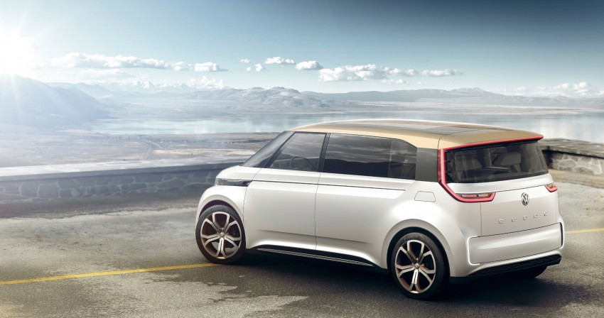 CES 2016: Volkswagen BUDD-e Concept – electric van is first on the Modular Electric Platform (MEB) Image #425428