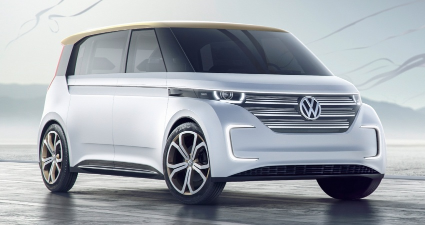 CES 2016: Volkswagen BUDD-e Concept – electric van is first on the Modular Electric Platform (MEB) Image #425430