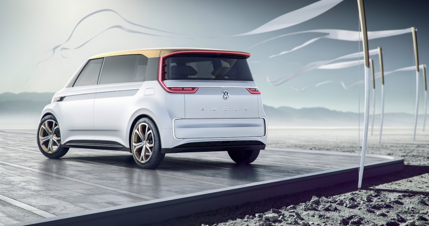 CES 2016: Volkswagen BUDD-e Concept – electric van is first on the Modular Electric Platform (MEB) Image #425432