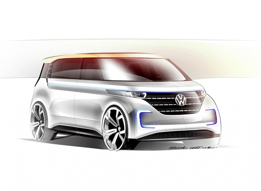 CES 2016: Volkswagen BUDD-e Concept – electric van is first on the Modular Electric Platform (MEB) Image #425433