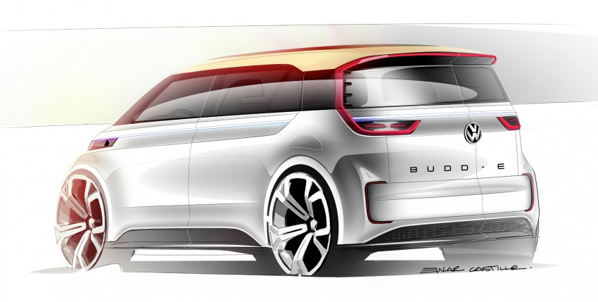 CES 2016: Volkswagen BUDD-e Concept – electric van is first on the Modular Electric Platform (MEB) Image #425434