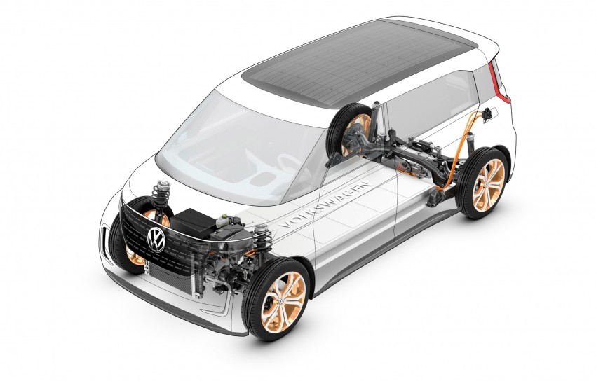 CES 2016: Volkswagen BUDD-e Concept – electric van is first on the Modular Electric Platform (MEB) Image #425435