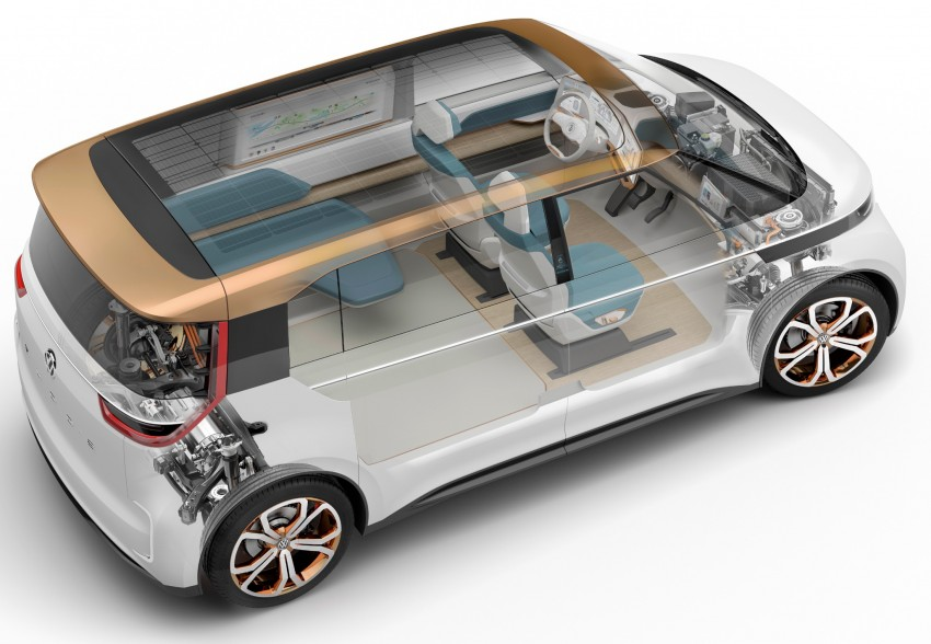 CES 2016: Volkswagen BUDD-e Concept – electric van is first on the Modular Electric Platform (MEB) Image #425439