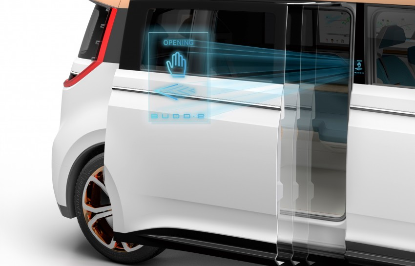 CES 2016: Volkswagen BUDD-e Concept – electric van is first on the Modular Electric Platform (MEB) Image #425445
