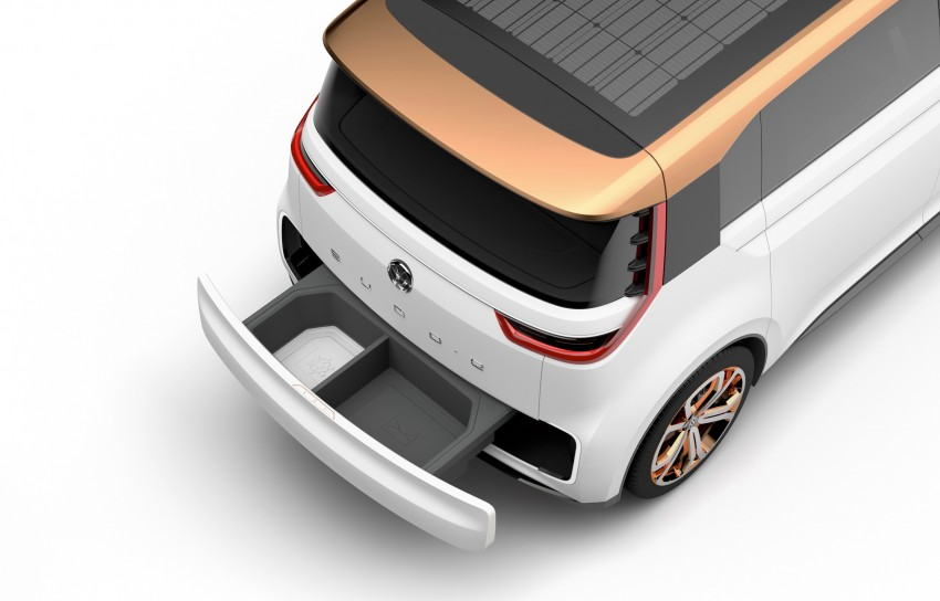 CES 2016: Volkswagen BUDD-e Concept – electric van is first on the Modular Electric Platform (MEB) Image #425447