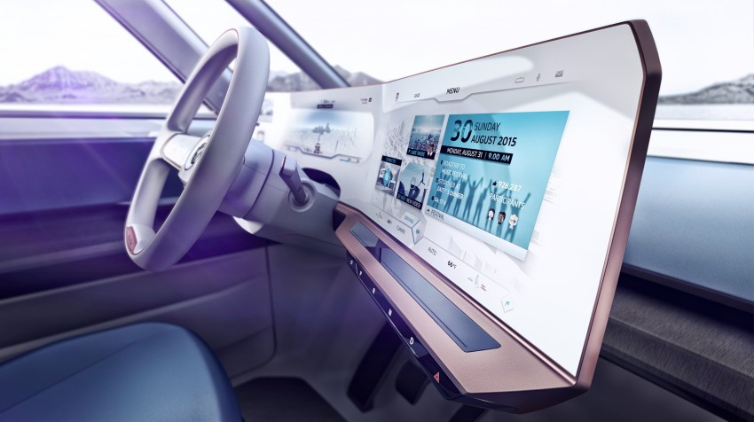 CES 2016: Volkswagen BUDD-e Concept – electric van is first on the Modular Electric Platform (MEB) Image #425450
