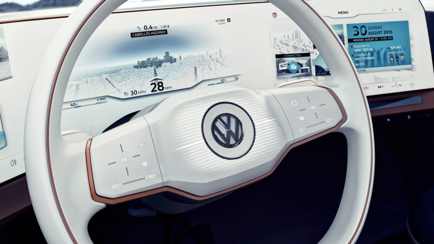CES 2016: Volkswagen BUDD-e Concept – electric van is first on the Modular Electric Platform (MEB) Image #425452