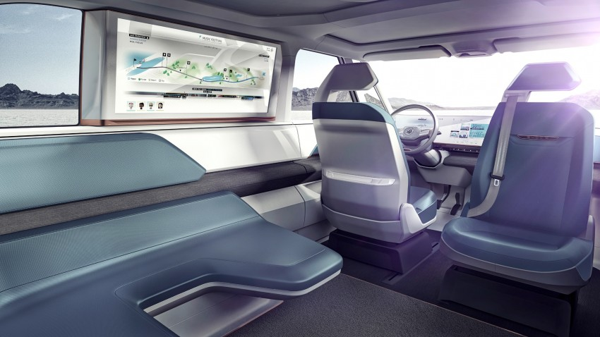 CES 2016: Volkswagen BUDD-e Concept – electric van is first on the Modular Electric Platform (MEB) Image #425453