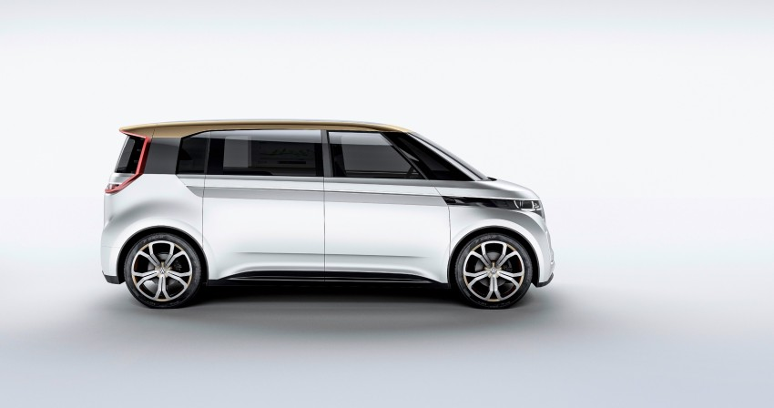 CES 2016: Volkswagen BUDD-e Concept – electric van is first on the Modular Electric Platform (MEB) Image #425454