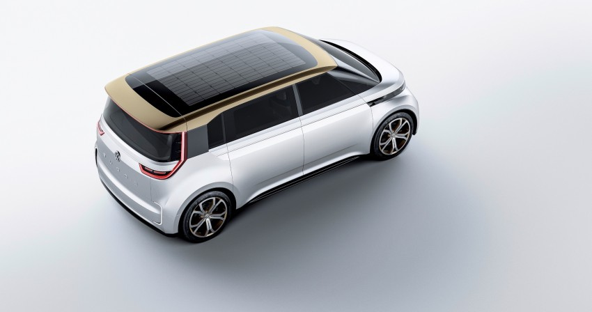 CES 2016: Volkswagen BUDD-e Concept – electric van is first on the Modular Electric Platform (MEB) Image #425455
