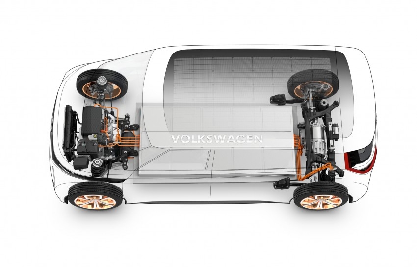 CES 2016: Volkswagen BUDD-e Concept – electric van is first on the Modular Electric Platform (MEB) Image #425459