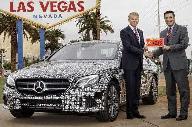 Mercedes-Benz E-Class: Self-driving across the highways of Nevada
