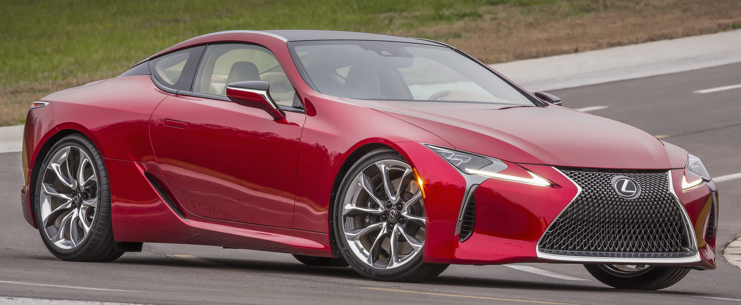 lexus banking on lc 500 to dispel boring image. Black Bedroom Furniture Sets. Home Design Ideas