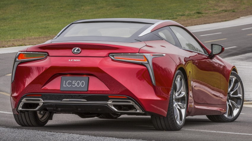 2017 Lexus LC 500 – a show car you can actually buy Image #427242