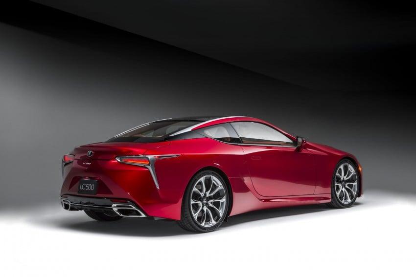 2017 Lexus LC 500 – a show car you can actually buy Image #427245