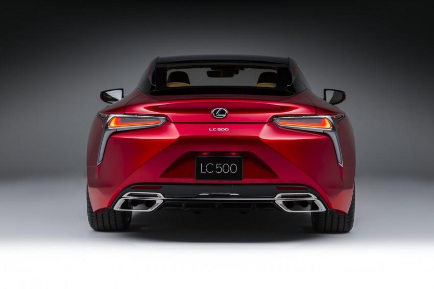 2017 Lexus LC 500 – a show car you can actually buy Image #427247