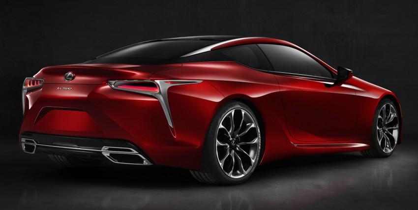 2017 Lexus LC 500 – a show car you can actually buy Image #427250