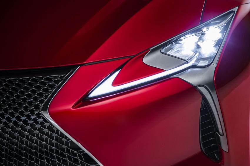 2017 Lexus LC 500 – a show car you can actually buy Image #427255