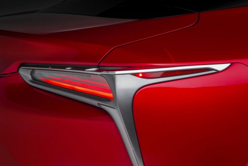 2017 Lexus LC 500 – a show car you can actually buy Image #427256