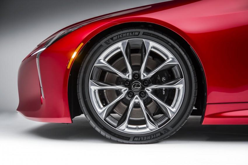 2017 Lexus LC 500 – a show car you can actually buy Image #427258
