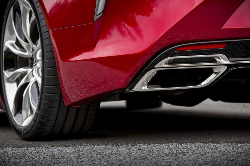 2017 Lexus LC 500 – a show car you can actually buy Image #427259