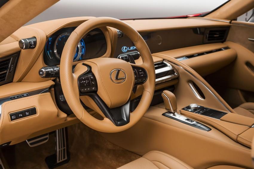 2017 Lexus LC 500 – a show car you can actually buy Image #427266