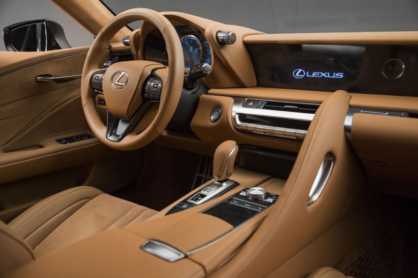 2017 Lexus LC 500 – a show car you can actually buy Image #427267