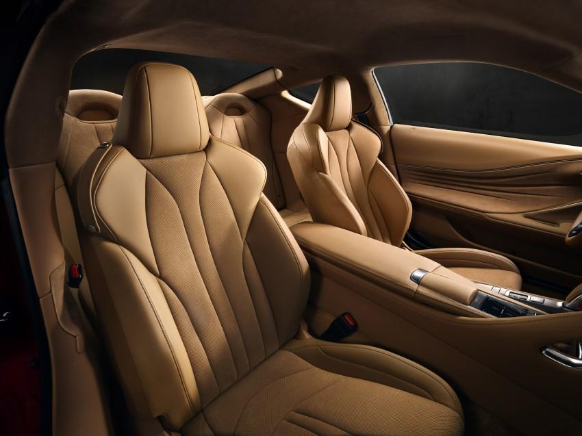 2017 Lexus LC 500 – a show car you can actually buy Image #427275