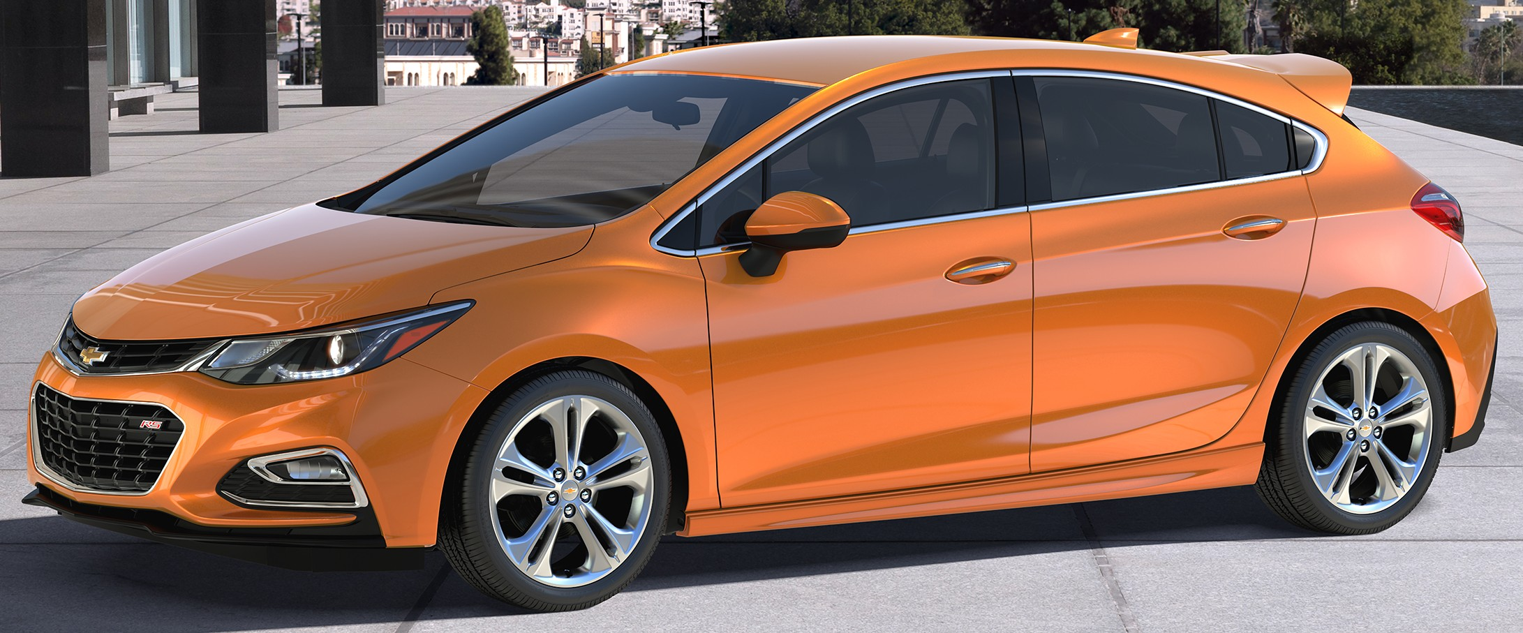 2017 Chevrolet Cruze hatchback unveiled in the US Paul Tan ...