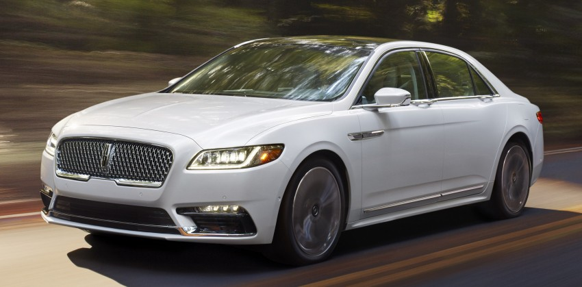 2017 Lincoln Continental exudes luxury in Detroit Image #427693