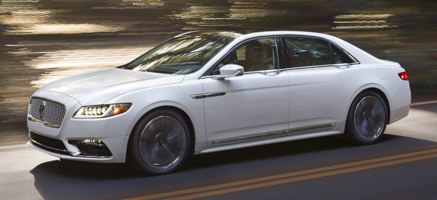 2017 Lincoln Continental exudes luxury in Detroit Image #427694